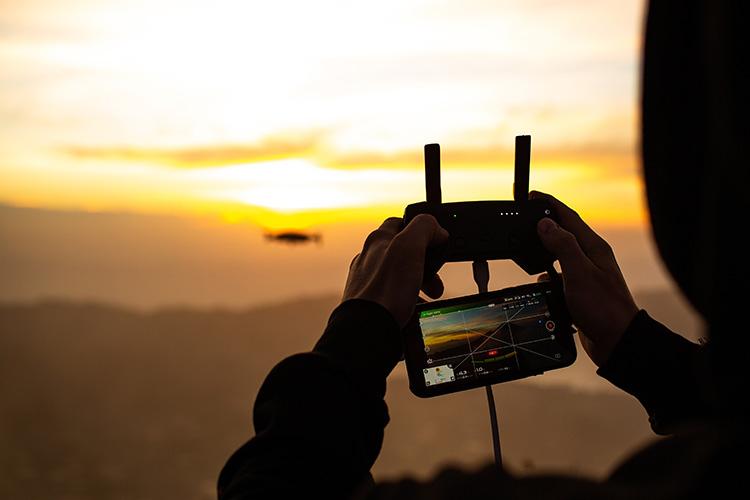 drones para monitorización
