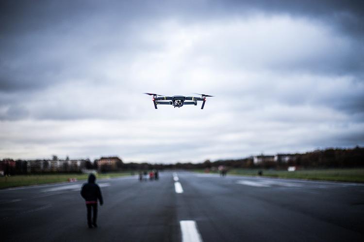 inspección con drones en madrid