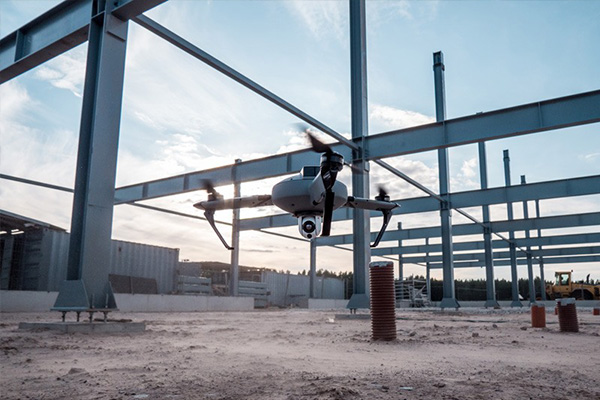 inspecciones estructurales con drones en madrid