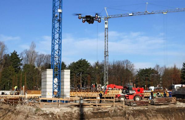 vídeos de seguimiento de obras con drones madrid